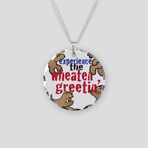 Wheaten Greetin' Necklace Circle Charm