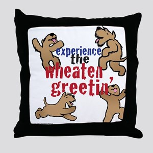 Wheaten Greetin' Throw Pillow