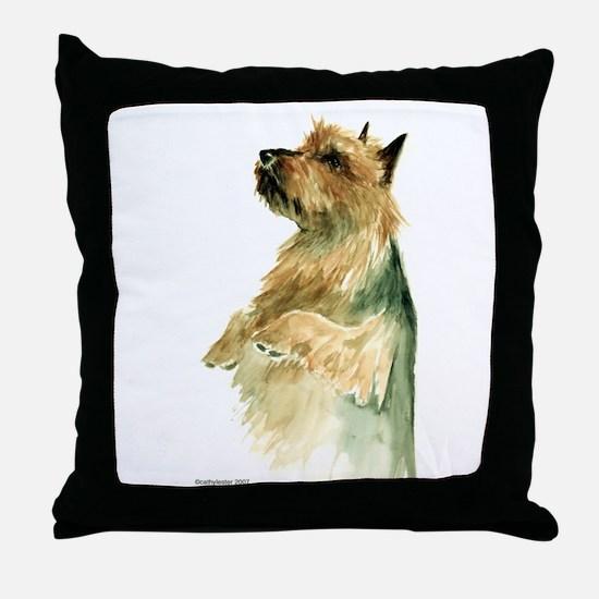 Australian Terrier beg Throw Pillow