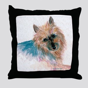 Australian Terrier face Throw Pillow