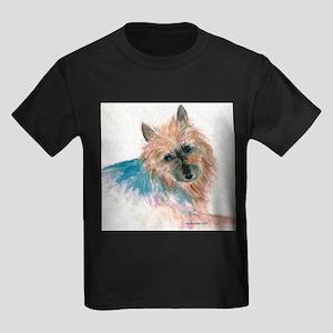 Australian Terrier face Kids Dark T-Shirt