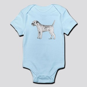 Border Terrier Infant Bodysuit