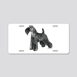 Kerry Blue Terrier Aluminum License Plate