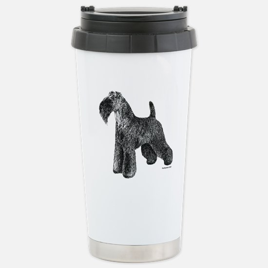 Kerry Blue Terrier Stainless Steel Travel Mug