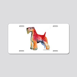Soft Coated Wheaten Terrier w Aluminum License Pla