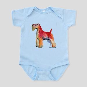 Soft Coated Wheaten Terrier w Infant Bodysuit