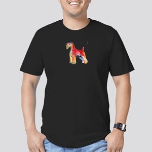Soft Coated Wheaten Terrier w Men's Fitted T-Shirt