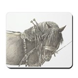 Draft horse Mouse Pads
