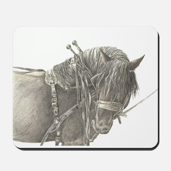 Draft Horse Mousepad