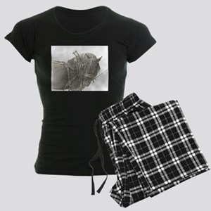 Draft Horse Women's Dark Pajamas