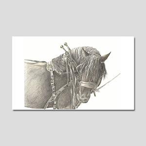 Draft Horse Car Magnet 20 x 12