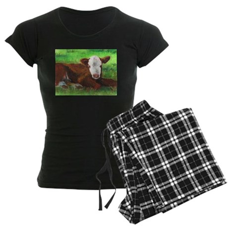 Calf Women's Dark Pajamas