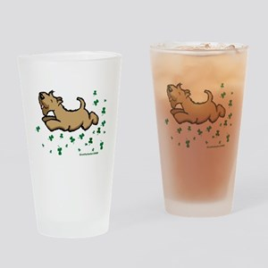 SCWT shamrock Jump Drinking Glass