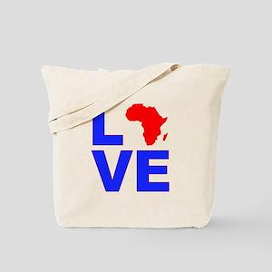 Love Africa Tote Bag