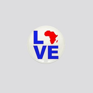 Love Africa Mini Button