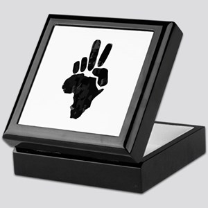 African Peace Keepsake Box