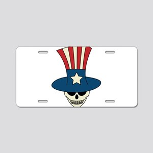 Uncle Damned Sam Aluminum License Plate