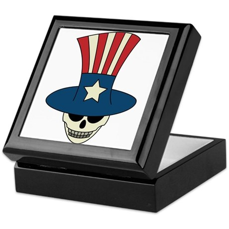Uncle Damned Sam Keepsake Box