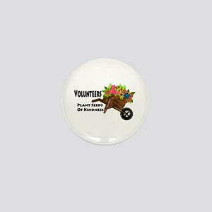 Volunteers Plant Seeds of Kindness Mini Button (10