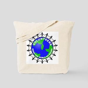 Volunteers Make the World Go Tote Bag