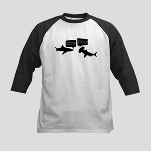 Shark Talk Kids Baseball Jersey