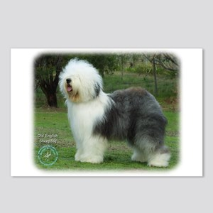 Old English Sheepdog 9F054D-08 Postcards (Package