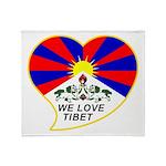 We love Tibet Throw Blanket