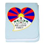 We love Tibet baby blanket