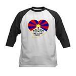 We love Tibet Kids Baseball Jersey