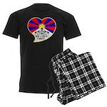 We love Tibet Men's Dark Pajamas