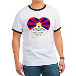 We love Tibet Ringer T