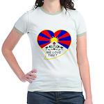 We love Tibet Jr. Ringer T-Shirt
