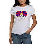 We love Tibet Women's T-Shirt