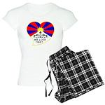 We love Tibet Women's Light Pajamas