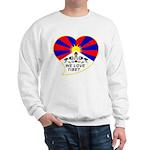 We love Tibet Sweatshirt