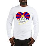 We love Tibet Long Sleeve T-Shirt