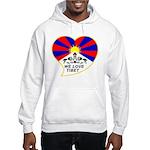We love Tibet Hooded Sweatshirt
