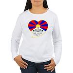 We love Tibet Women's Long Sleeve T-Shirt