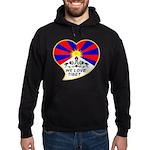 We love Tibet Hoodie (dark)