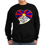 We love Tibet Sweatshirt (dark)