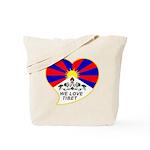 We love Tibet Tote Bag