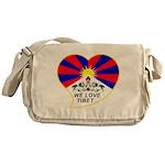 We love Tibet Messenger Bag