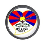 We love Tibet Wall Clock