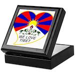 We love Tibet Keepsake Box