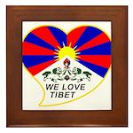 We love Tibet Framed Tile