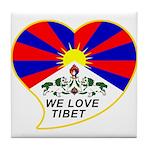 We love Tibet Tile Coaster