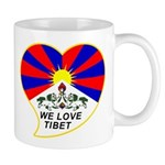 We love Tibet Mug