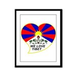 We love Tibet Framed Panel Print