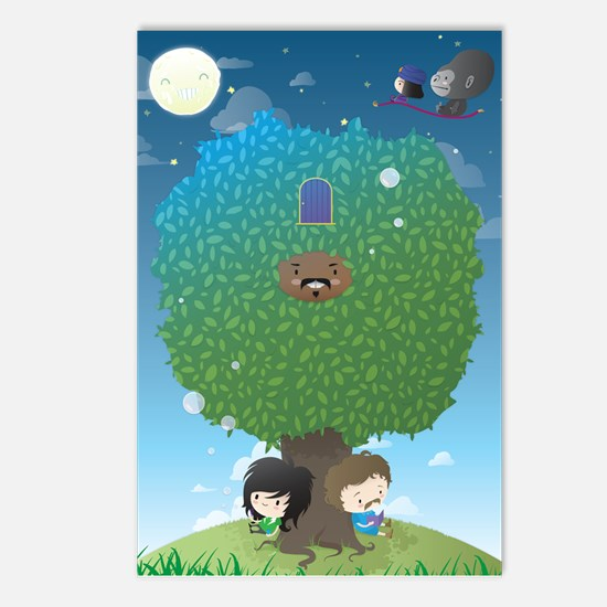 Cute Mighty boosh Postcards (Package of 8)