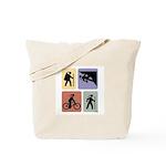 Multi Sport Grrls: Tote Bag